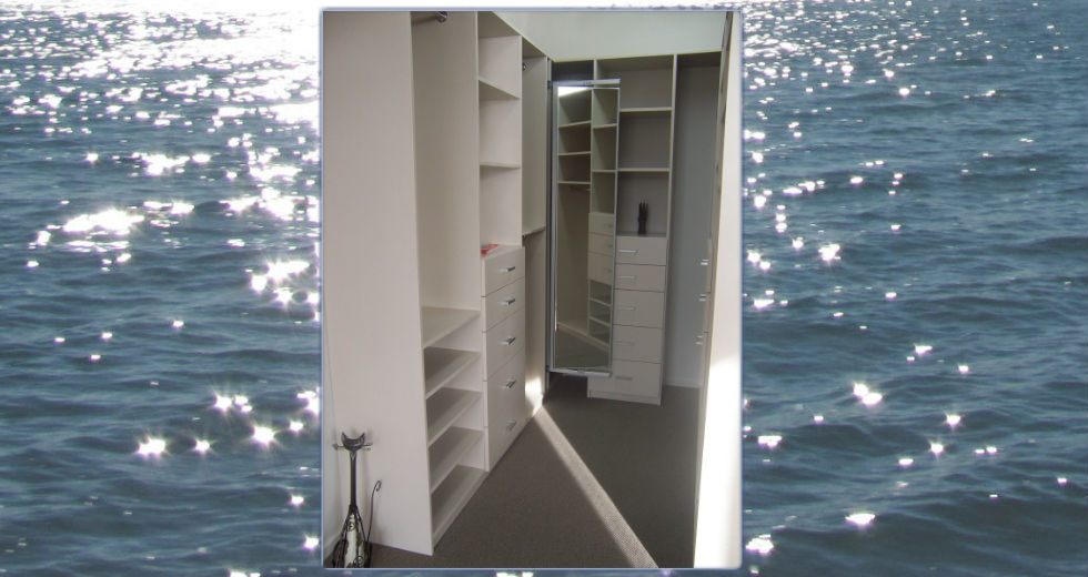 Sample of the ideal wardrobe by Wardrobe & Storage Specialists.